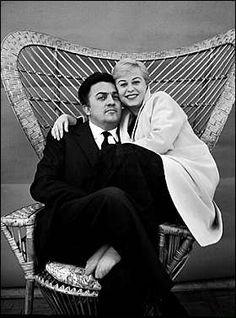 Federico Fellini e Giulietta Masina by Chiara Samugheo