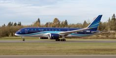 Photos of Gorgeous Azerbaijan Boeing 787 Dreamliner