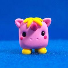 Kawaii clay unicorn