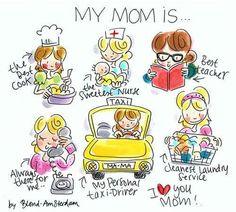 My mom is blond amsterdam
