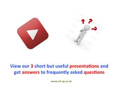 Useful short presentations & Answers to key questions about our BSMARTONLINE service.