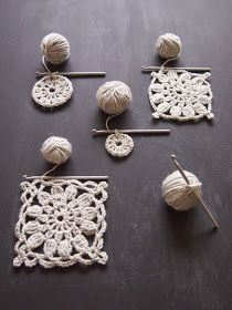 omⒶ KOPPA: UUSI kukkaNELIÖvariaatio Diy And Crafts, Crochet Earrings, Crochet Patterns, Hair Accessories, Knitting, Creative, Handmade, Projects, Nifty