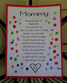 Mothers Day Crafts For Kids Preschool Cute Mothers Day Gifts, Mothers Day Crafts For Kids, Fathers Day Crafts, Mothers Day Cards, Valentine Crafts For Toddlers, Mothers Day Poems Preschool, Mum Gifts, Daycare Crafts, Classroom Crafts