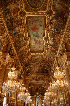 Places to See: Paris Opera House (Palais Garnier)You can find Opera house and more on our website.Places to See: Paris Opera House (Palais Garnier) Architecture Baroque, Beautiful Architecture, Beautiful Buildings, Beautiful Places, Ancient Architecture, Russian Architecture, Classical Architecture, Paris Opera House, Opera Garnier Paris