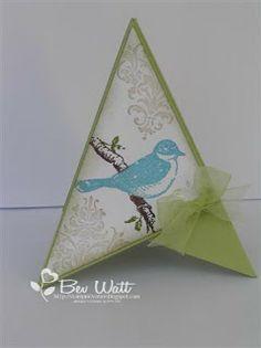 StampinOvation: Friends 24-7 Pyramid Card