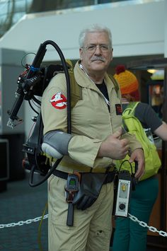 Ghostbuster #cosplay | SDCC 2013 Cosplay is for any age.