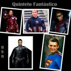 Mis superheroes favoritos jejeje