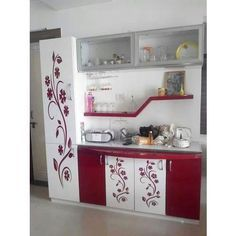 Kitchen Crockery Cabinet - Buy Kitchen Cabinets at best price of Rs fee from Ashapura Enterprises. Buy Kitchen Cabinets, Kitchen Cupboard Designs, Kitchen Room Design, Modern Kitchen Design, Home Decor Kitchen, Interior Design Kitchen, Kitchen Ideas, Crockery Cabinet, Kitchen Modular