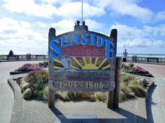 Seaside, Oregon sign