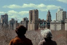 1984, New York, Central Park, two ladies by Frank Horvat