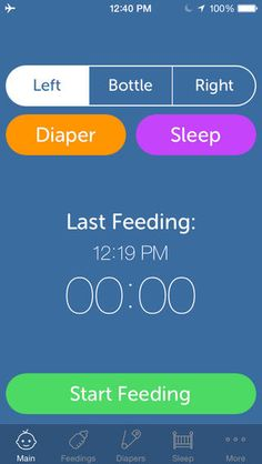 Baby Feeding Log | Baby Apps