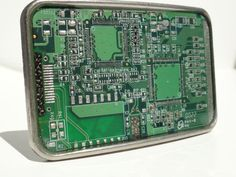 Recycled Circuit Board Belt Buckle - product image