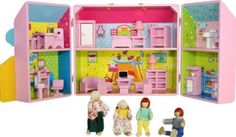 Mommy & Me Wooden Take Along Dollhouse Fully Furnished Plus 4 Dolls.(view all photos) by Mommy & Me Doll Collection, http://www.amazon.com/dp/B008TW4FFC/ref=cm_sw_r_pi_dp_tYATqb1VQXD25