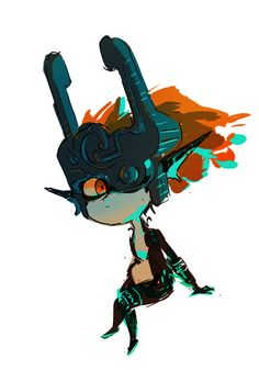Character Design References, Game Character, Legend Of Zelda Midna, Zelda Video Games, Zelda Twilight Princess, Link Zelda, Cartoon Games, Illustration Art, Illustrations