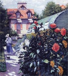 The Garden at Petit Gennevilliers - Gustave Caillebotte