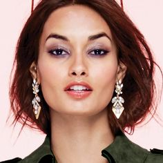 mark. By Avon Fancy That Statement Earrings. The ornate sparkling statement earrings add an antique touch with a pop of glam to your evening wear.