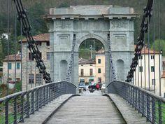 Ponte delle Catene (Bridge of Chains), North Tuscany