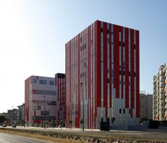 Residencia universitaria en Gandia - Guallart Architects