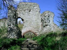 Wigmore Castle, Herefordshire, England