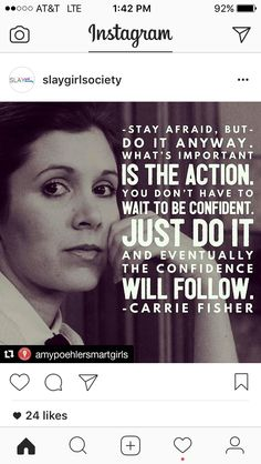 Carrie Fisher; 1956-2016