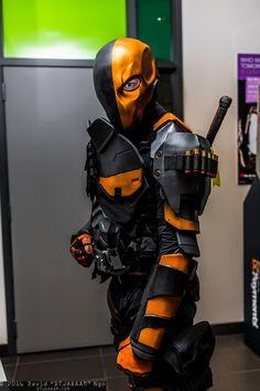 "Character: Deathstroke (Slade Wilson) / From: Warner Bros. Interactive Entertainment's 'Batman: Arkham Origins' Video Game / Cosplayer: Unknown / Photo: David ""DTJAAAM"" Ngo (2016)"