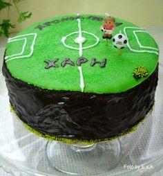 Τούρτα Σοκολάτας για τα γενέθλια του Χάρη (Chocolate Cake for Hari's Birthday)