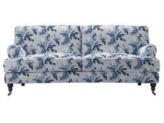 bluebell three seat sofa in paradise in mineral by Anna Glover - https://www.sofa.com/shop/sofas/bluebell/customize/size/130/fabric/ANAPMI/