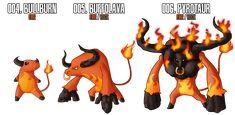 Fakemon: Fire Starter by MTC-Studios on deviantART