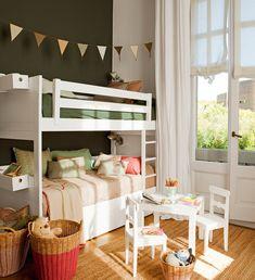 Un piso familiar abrigado por la madera · ElMueble.com · Casas