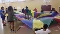 Gato y ratón con paracaídas 20160516_102821.mp4 Juegos Motores #JuegosMotores #INEF #CCAFD #UGR #HPE #PhysicalActivity #PhysicalEducation #ActiveGames @Fac_Deporte_UGR @UGRdivulga