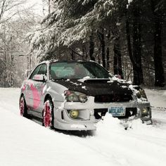 WRX LADY.  Perfect mix of pink without it being too much!  #SubaruPride