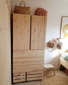 IKEA IVAR - storage solutions for a box room. - Alice in Scandiland Box Bedroom, Kids Bedroom, Ikea Cupboards, Ikea Storage, Room Inspiration, Decoration, Shelving, Storage Solutions, Room In A Box