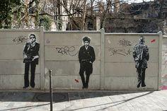 dylan and serge - Paris street art