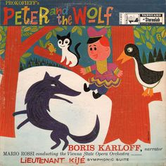 You used to play Peter and the Wolf for me. The opening song always brings tears to my eyes...soundtrack of my childhood.