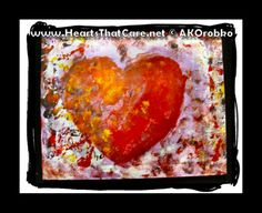 "Graffiti - Ready to hang acrylic artwork 20"" x 16"" stretched canvas by Dr. Angela Kowitz Orobko"