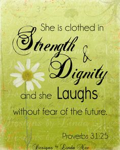 PROVERBS 31:25 Woman Printable Typography -Subway Art Wall Printable- 4x6, 5x5, 5x7, 8x8, 8x10, 10x13, 11x14, 12x12, 16x20