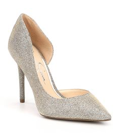 Shop for Jessica Simpson Lucina Glitter Pumps at Dillards.com. Visit Dillards.com to find clothing, accessories, shoes, cosmetics & more. The Style of Your Life.