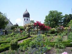 Klostergarten Frauenwörth