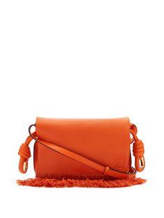 Flamenco small grained-leather cross-body bag   | Loewe | MATCHESFASHION.COM UK