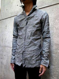 Grey shirt. Maurizio Amadei Collection