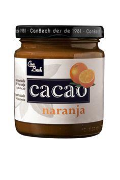 Mermelada de Naranja y Cacao.