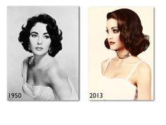 Elizabeth Taylor Soft Curls