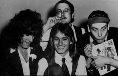 Cheap Trick, late 1970's; from an article in CIRCUS magazine