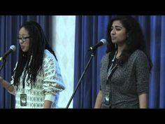 "Amazing! And so true. Very well done. :) Ariana Brown & Arati Warrier - ""Invisible"" (CUPSI 2014)"