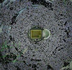 Aerial view of the Ka'aba, Masjid-Al-Haram, Makkah. Mecca Masjid, Masjid Al Haram, Mekkah, Beautiful Mosques, Islam Muslim, Muslim Pray, Doa Islam, Islam Religion, Islamic Architecture