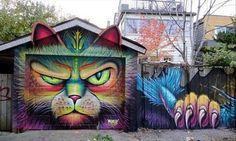 Street Art Vs. Graffiti - 26 Pics