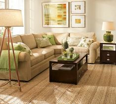 Lime green and brown decor ideas for the living room | Apothecaries