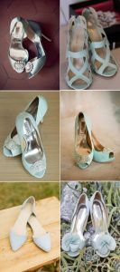 light blue shoes for wedding - light blue wedding ideas