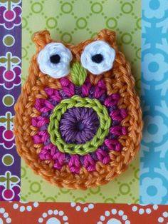 So if you know me, you know my love of owls and crochet. This is perfect