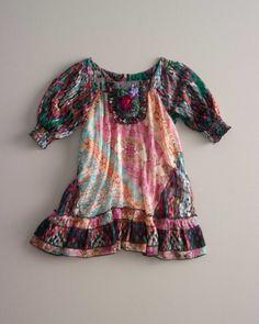 girls flower child dress